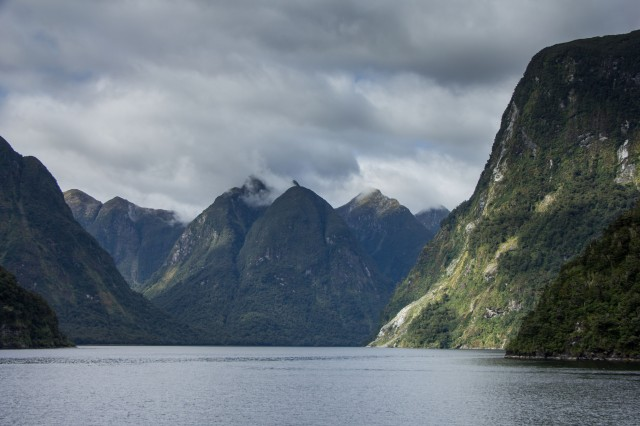 Doubtful Sound Tour - returning from Tasman Sea