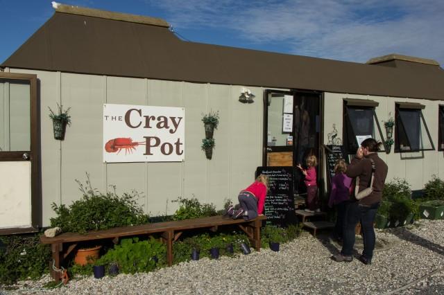 West Coast - Jackson Bay - Cray Pot