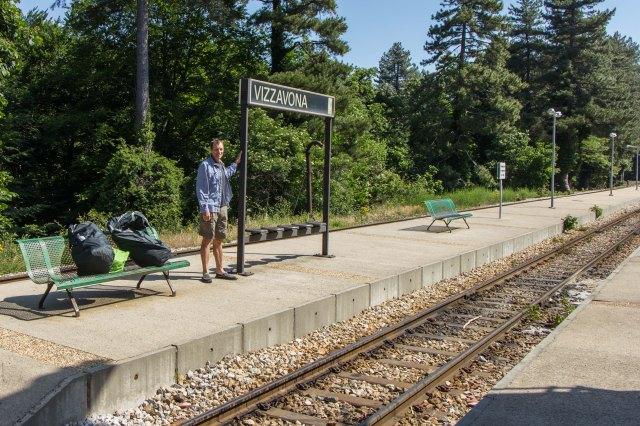 Vizzavona - train station