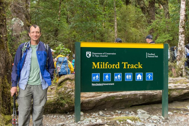 Milford Track - Start of the track