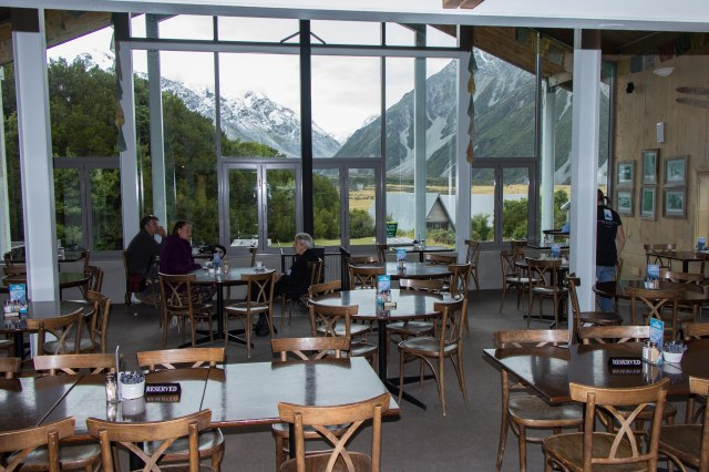 Mt Cook Village - Old Mountaineers Cafe