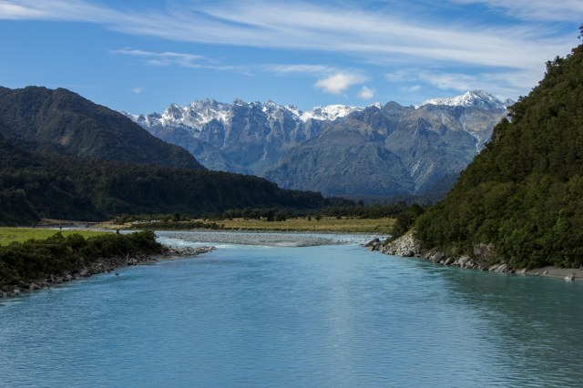 West Coast south of Hokitika to Fox Glacier