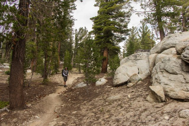 Half Dome to Sunrise Lakes Junction-12