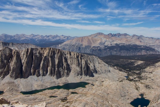 JMT - View from Mt Whitney