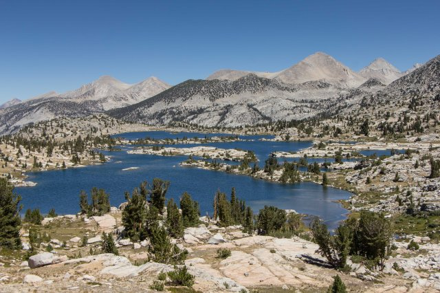 John Muir Wilderness -  Bear Creek junction to Sallie Keyes Lake