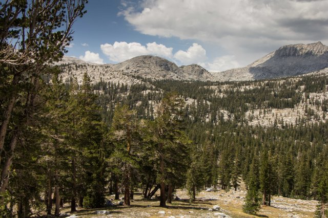 Ansel Adams Wilderness to Island Pass