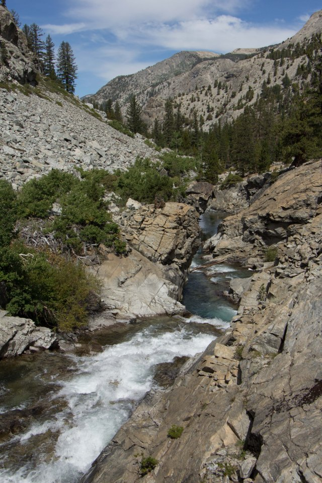 JMT - Kings Canyon Natl Park - MTR to Evolution Basin