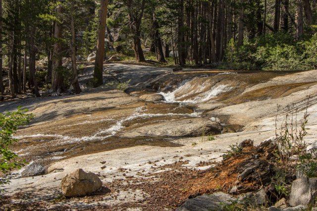 John Muir Wilderness, Lake Virginia to Mono Creek junction