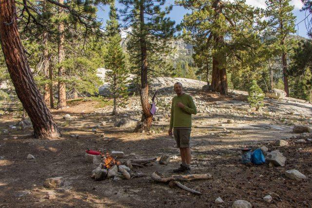 John Muir Wilderness, Mono Creek junction campsite