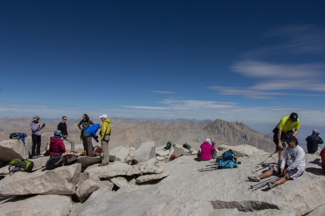Mt Whitney - Summit
