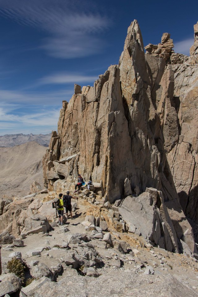 Mt Whitney - Trail Crest