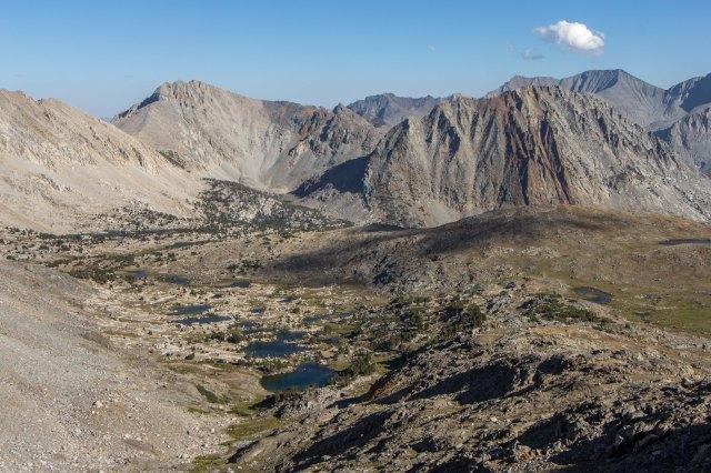 Kings Canyon Natl Park - Pinchot Pass