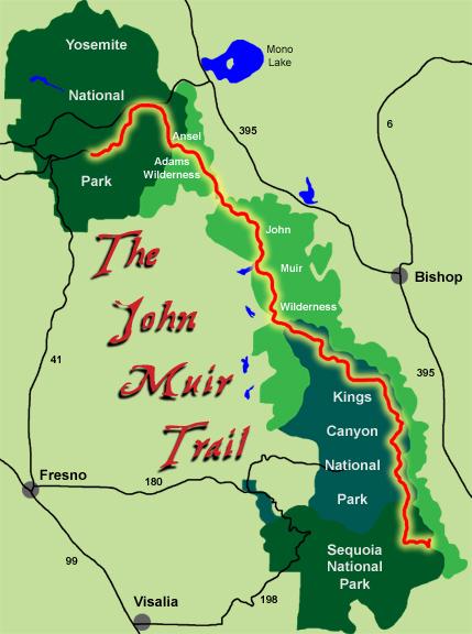 John Muir Trail California  Cooking in Tongues