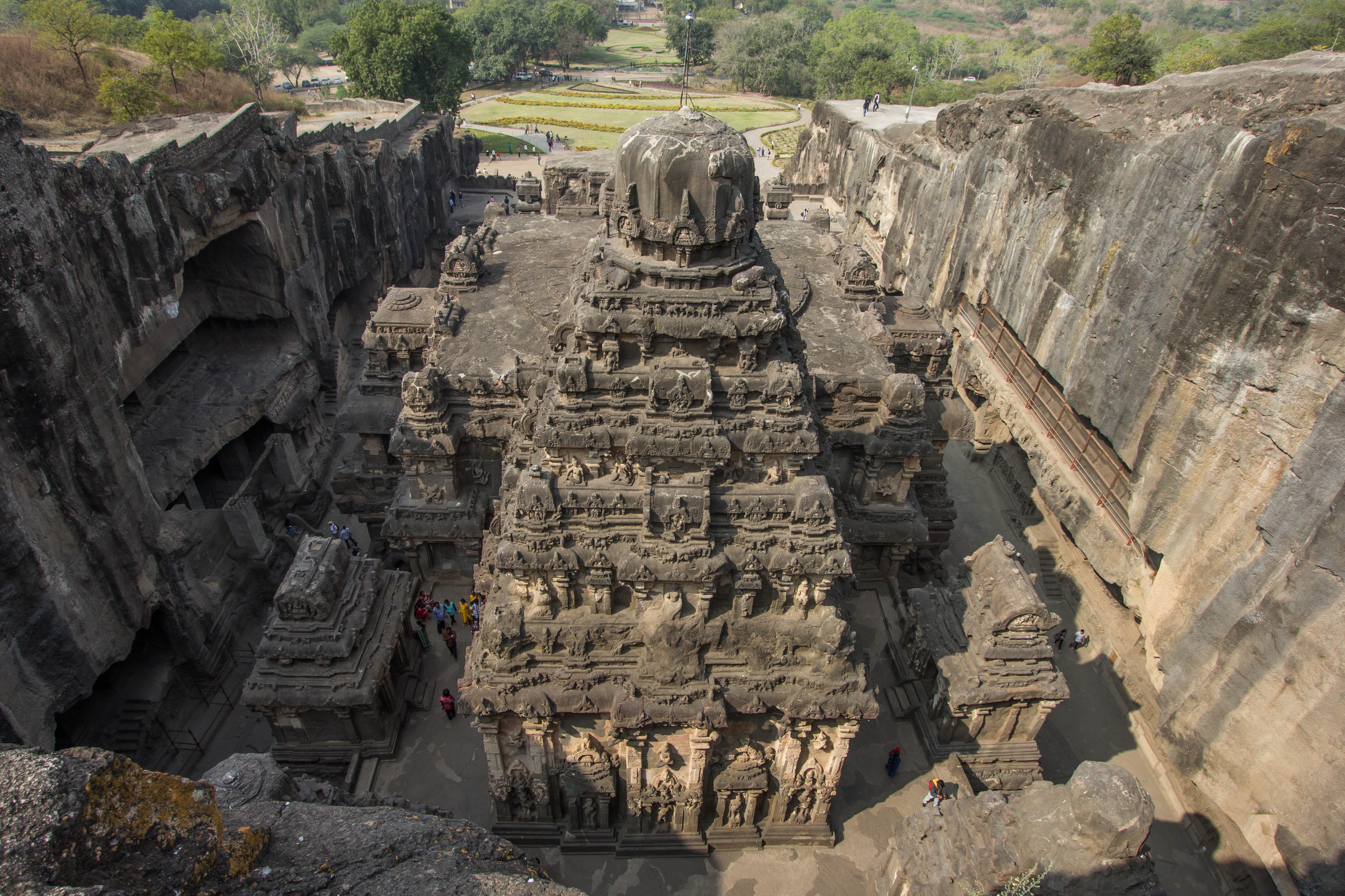 Ellora Caves Aurangabad India Cooking In Tongues