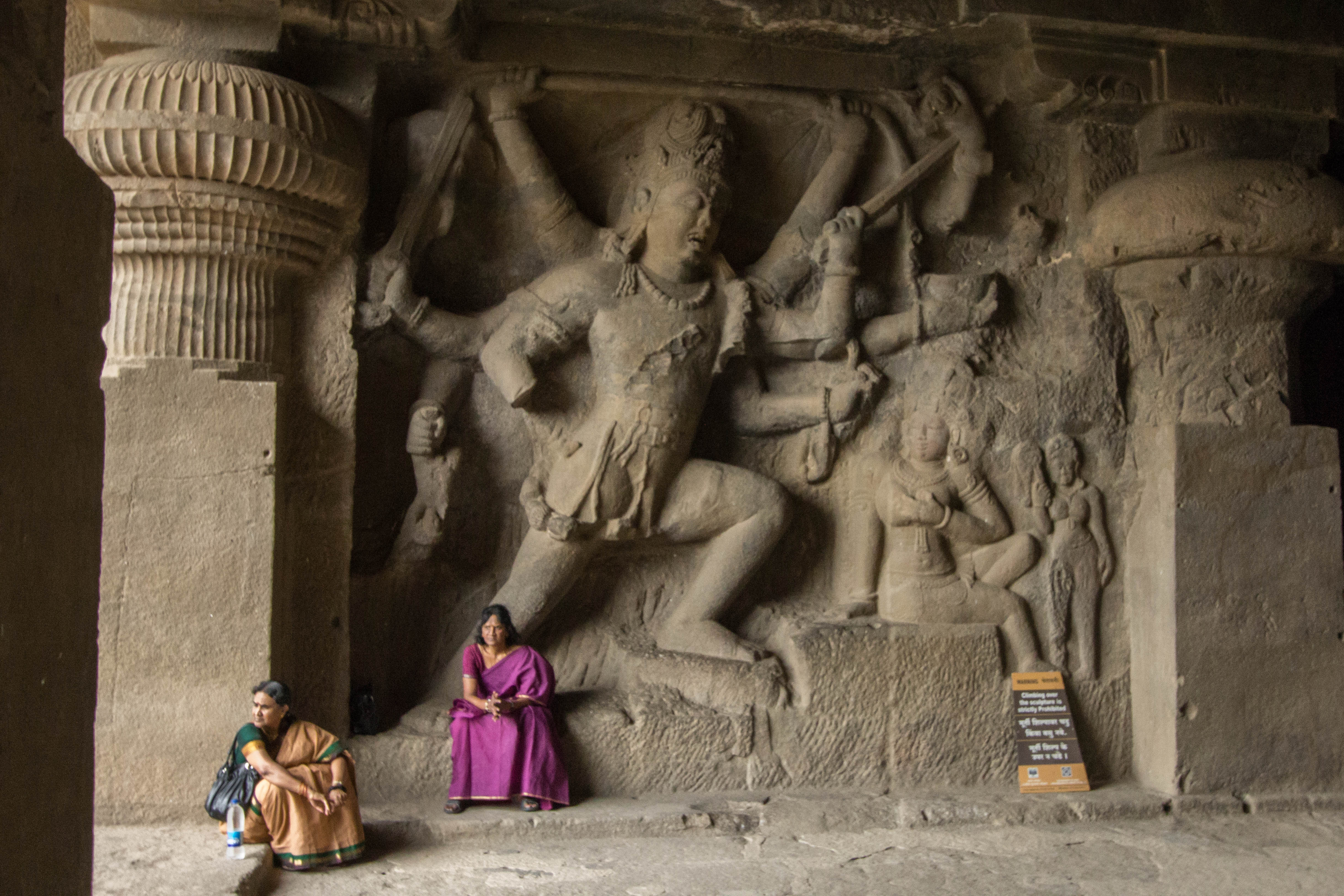 How Much To Paint A Car >> Ellora Caves, Aurangabad, India | Cooking in Tongues