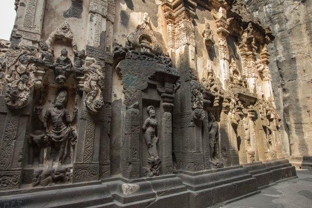 Ellora Caves - Cave 16 - Kailasa Temple
