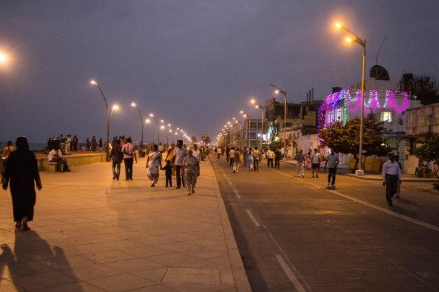 Pondicherry - Beach Road