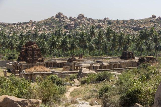 Looking back over Achutaraya Temple
