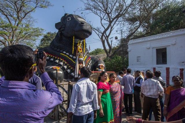 Chamundi Hill - Nandi, the Shiva's bull