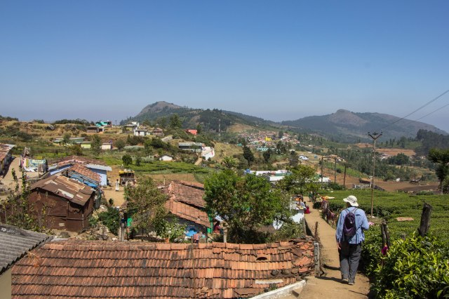 Walk above Ooty