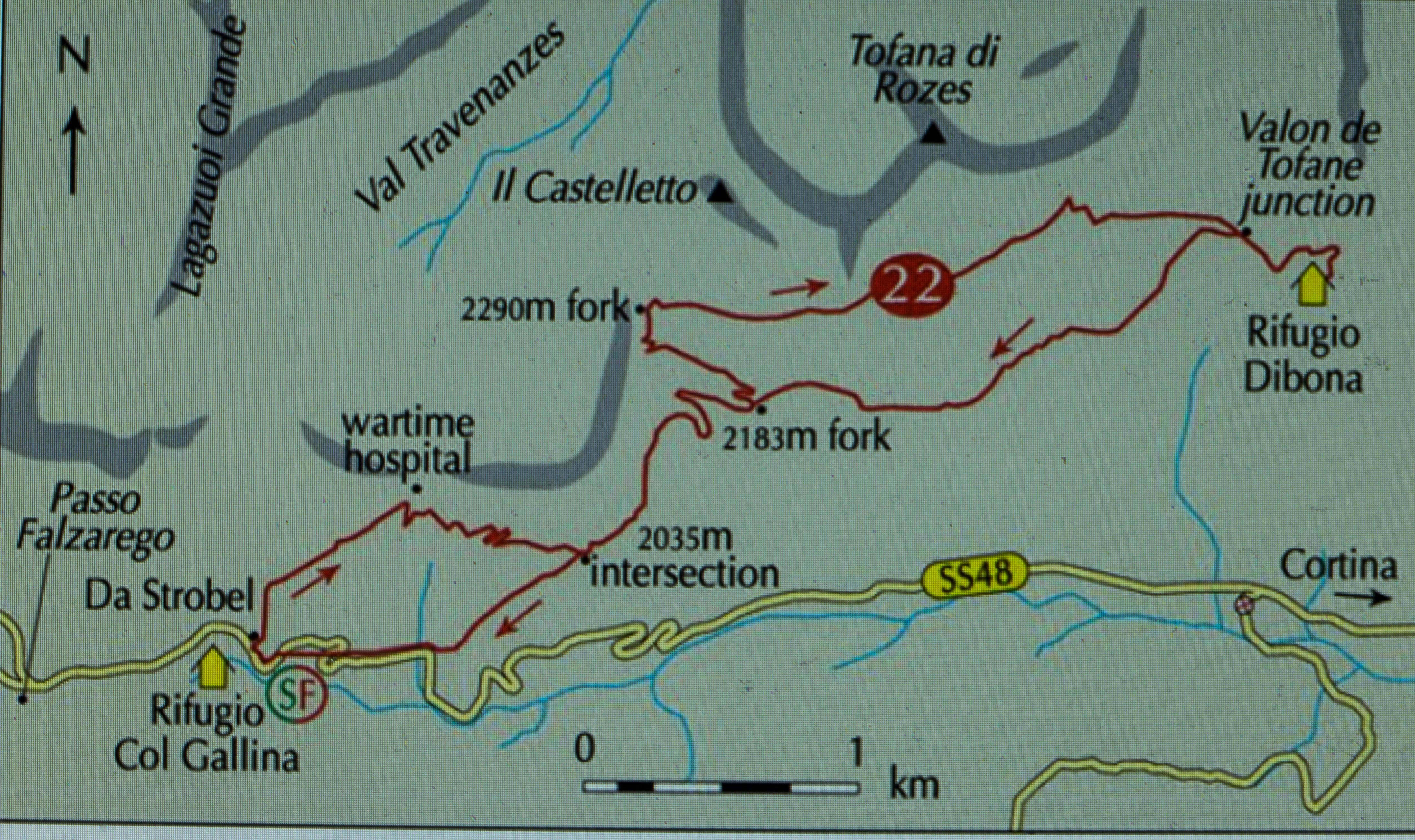 Image Result For Great Western Trail Map