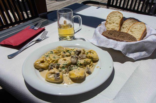 Lunch at Rifugio A Dibona