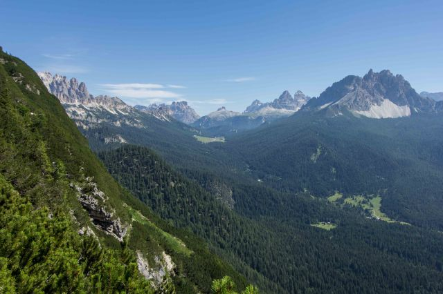 Cortina - Hike from Tres Croci to Lake Sorapiss