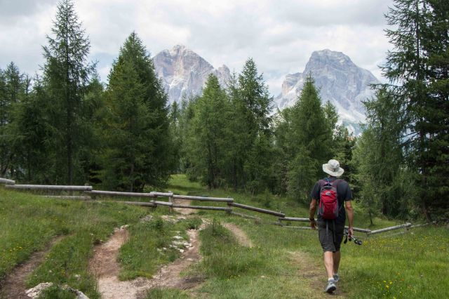 Cortina - Hike from Ponte de ru Curto to Croda da Lago