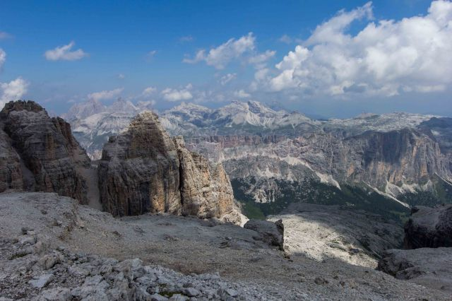 Ortisei - Hike Pordoi to Gardena Pass