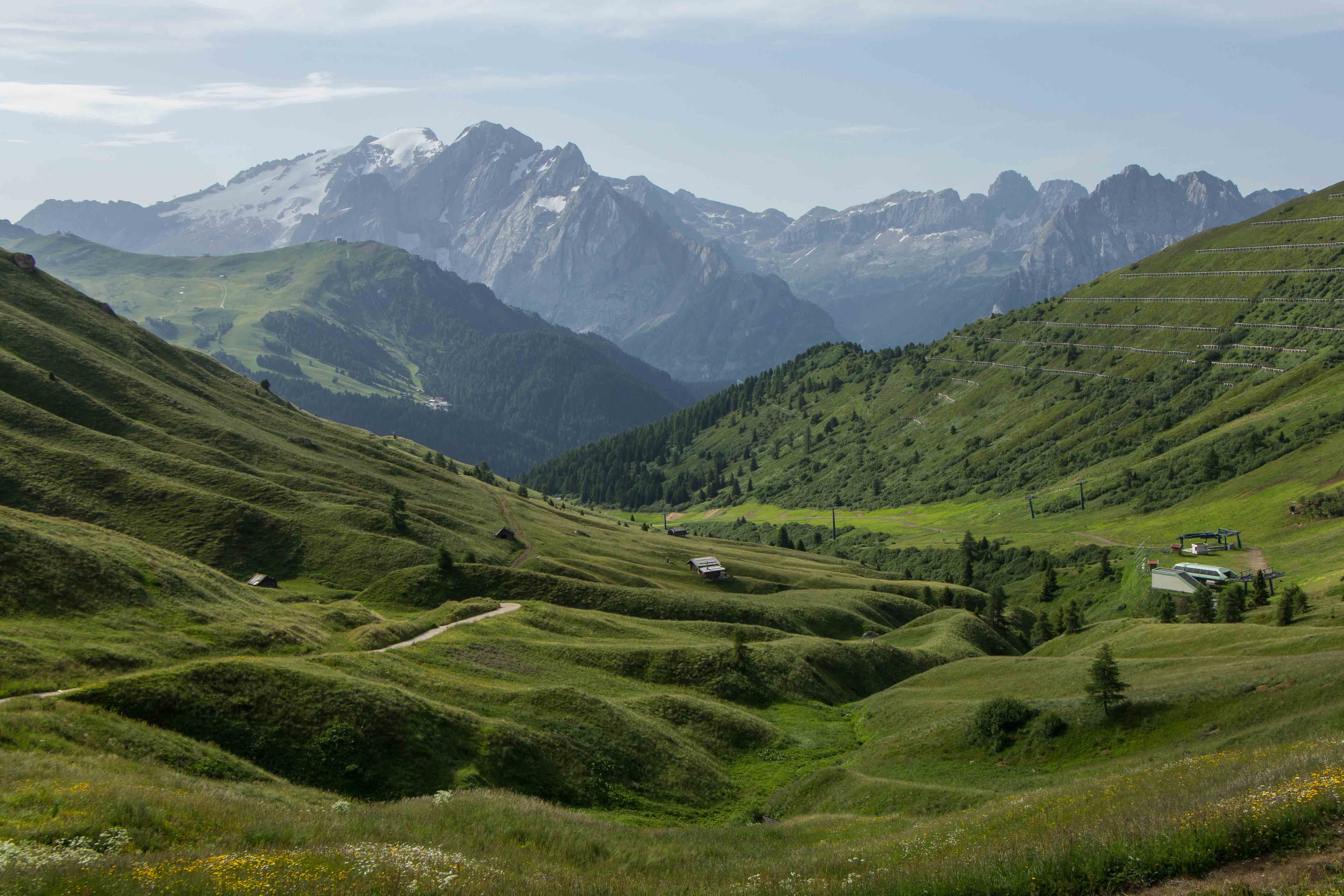 Heat Wave >> First Hike in the Dolomites, Ortisei, Italy | Cooking in Tongues