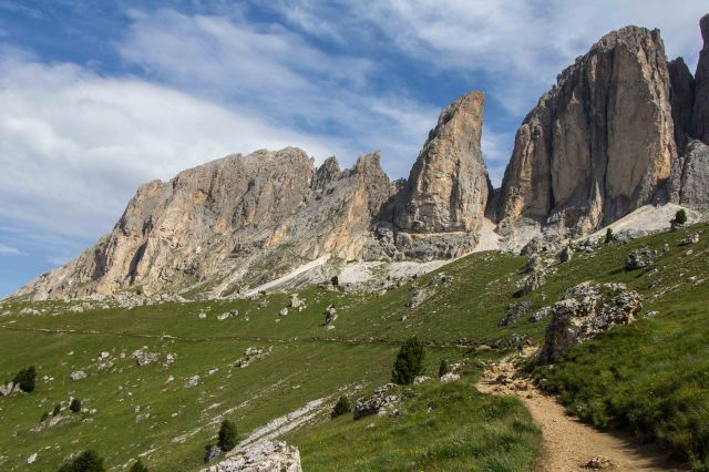 Ortisei - Circuit Hike from Sella Pass