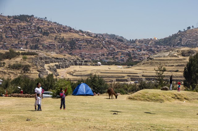 Saysaywaman in the Background