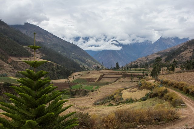 View from Casa de Salcantay