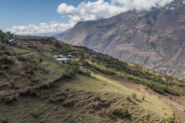 Camp at Marampata