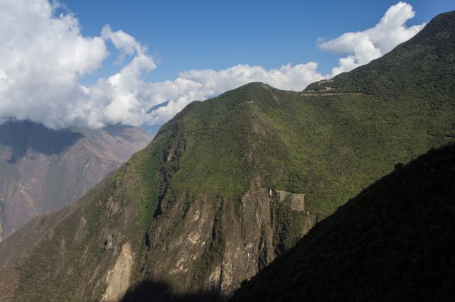 Choquequirao - Choquequirao to upper Chiquisca km marker 16