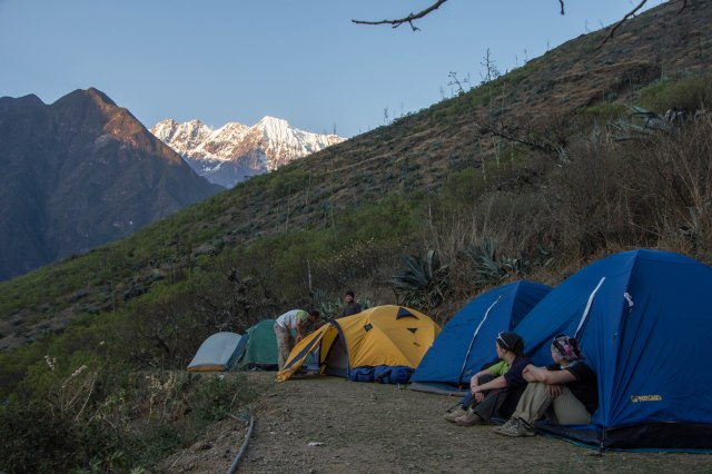Crowded Camp Site