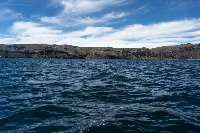 Lake Titcaca - Boat to Isla del Sol
