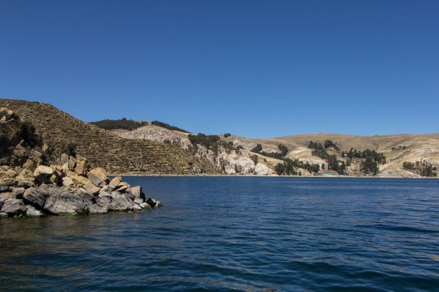 Isla del Sol - Boat form Yumani to Challapampa