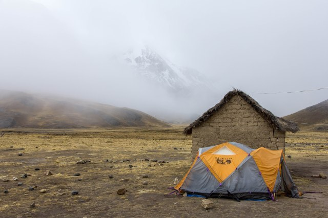Condoriri Trek  - Camp at Maria LLoco
