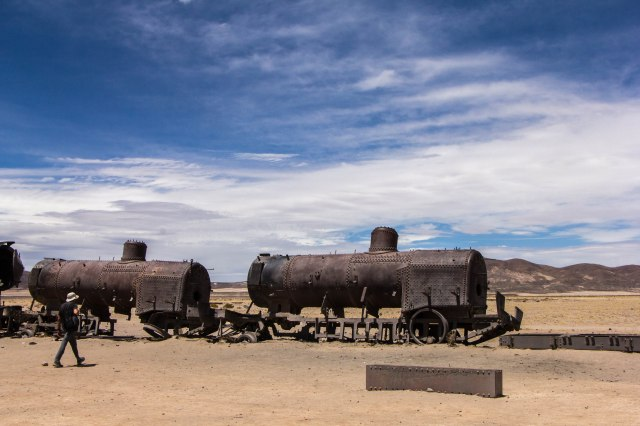 Uyuni - Train Cemetery