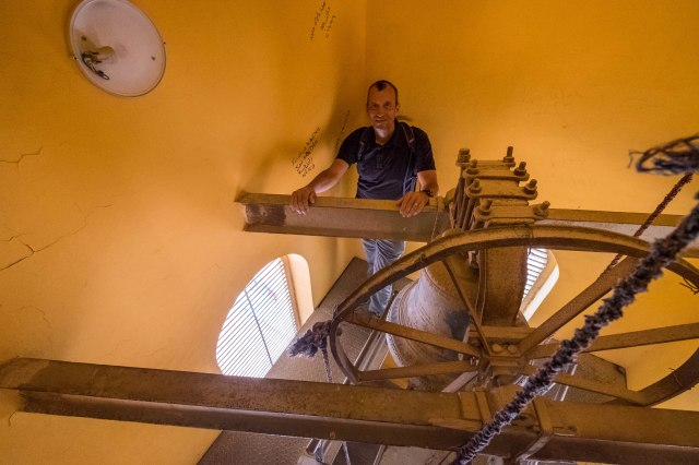 Climb to the bell tower
