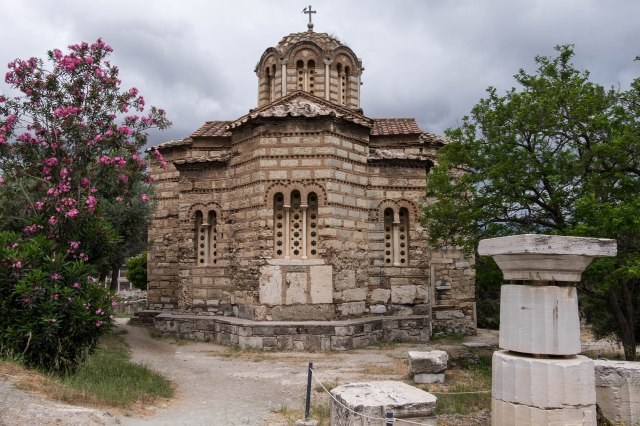 Ancient Agora - Church of Holy Apostles
