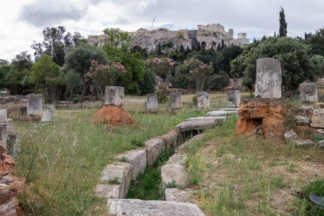 Ancient Agora - The Great Drain