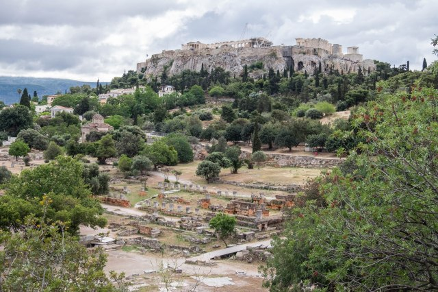 Ancient Agora - View from the Temple of Hephaestus