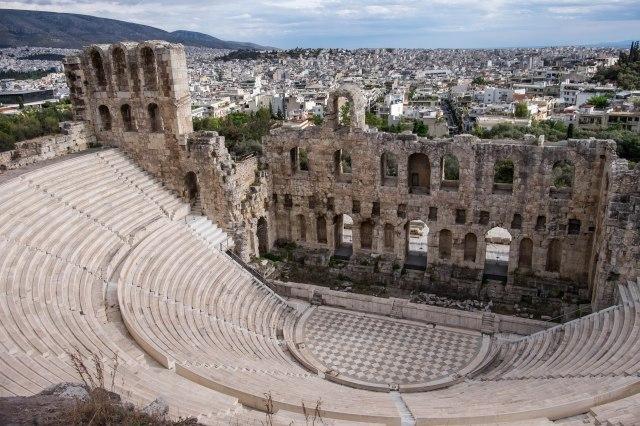 Acropolis - Odeon of Herodes Atticus