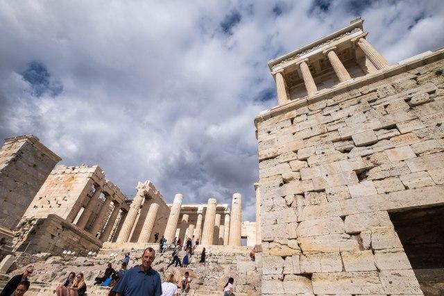 Acropolis - The Propylaea
