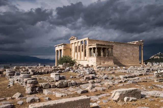 Acropolis - the Erechtheum