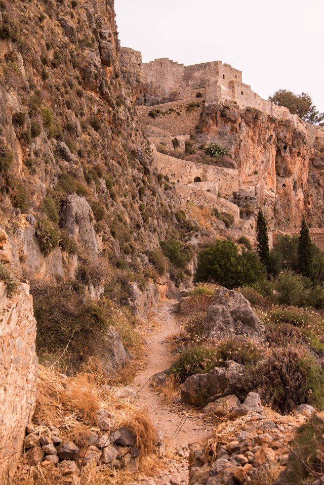 Monemvasia - walk to the upper village