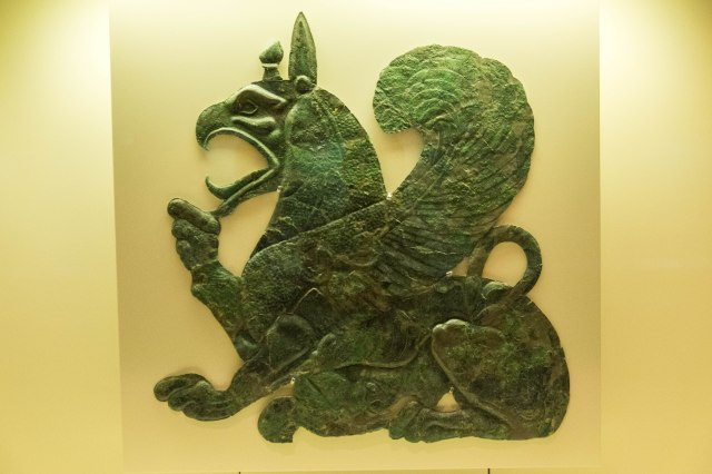 Archaeological Museum of Olympia - Griffin - symbol of power in