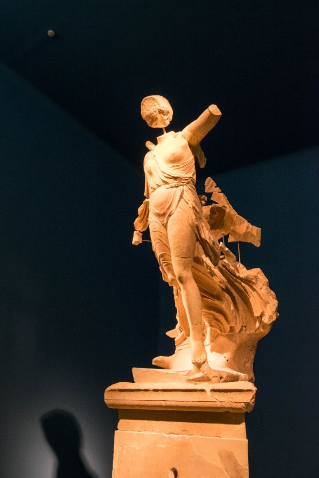 Archaeological Museum of Olympia - Nike of Paeonius - Statue of